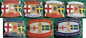 England-v-Sweden-2006-World-Cup-Koln-20-June-2006-Group-B-Pin-Badge