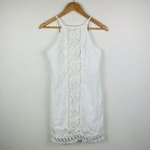 Bardot-Junior-Girls-Dress-Size-16-White-Boho-Good-Condition