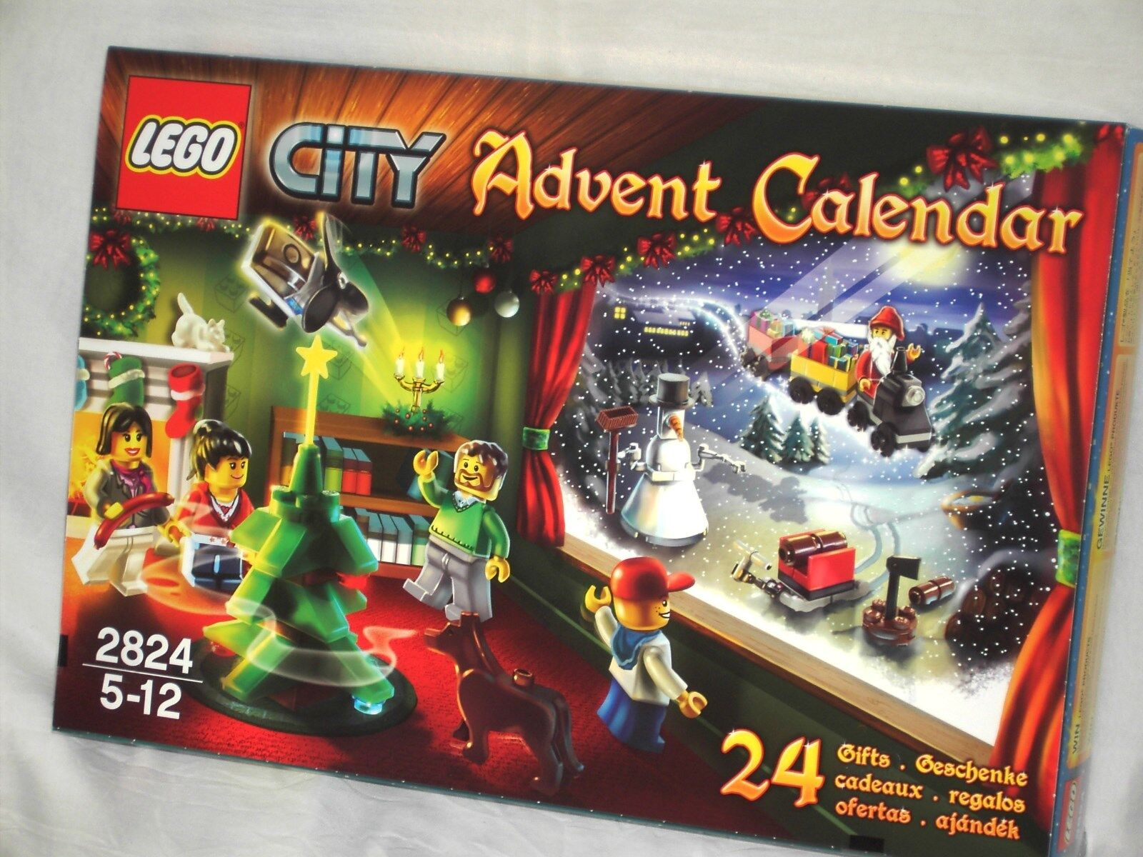 LEGO CITY 2824 - ADVENT CALENDER    NEW AND SEALED