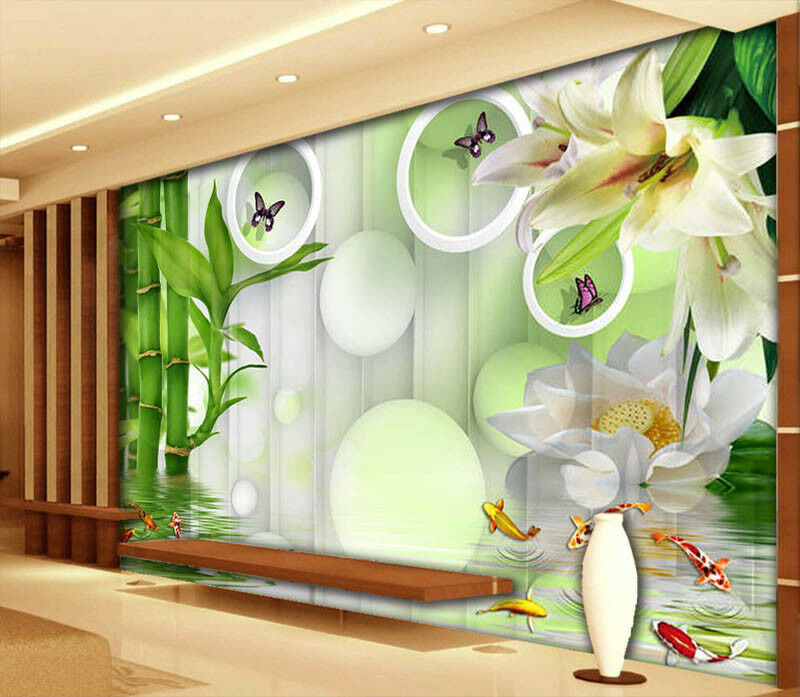 Delicate Bamboo 3D 3D 3D Full Wall Mural Photo Wallpaper Printing Home Kids Decoration 34df07
