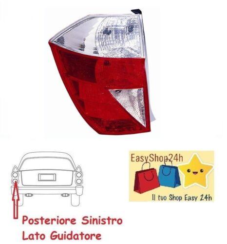 FARO FANALE POSTERIORE SX PER HONDA FR-V FRV 2004 2007 STOP GRUPPO OTTICO