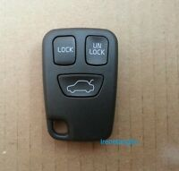 NEW VOLVO S40 V40 S70 C70 V70 Replacement 3 Buttons Remote Key FOB Case Shell