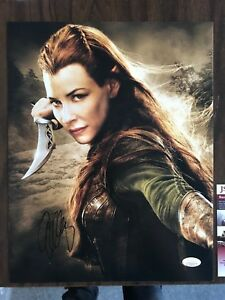 Hobbit-Evangeline-Lilly-Autographed-Signed-11x14-Photo-JSA-COA-3