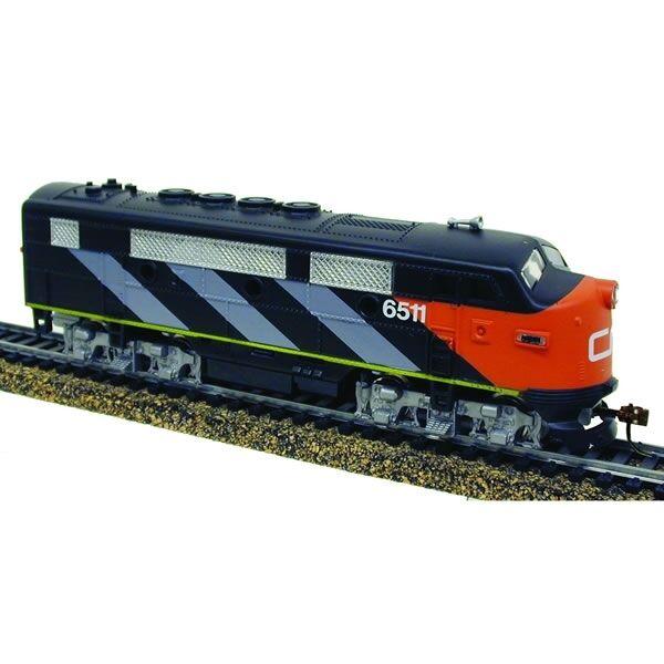 Tren Ho Ihc locomotora nacional canadiense DCC Sonido F-3 a  restaurado  M6809