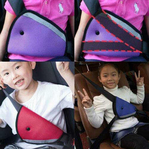 Children Safety Cover Harness Strap Adjust Pad Baby Kid For Car Seat Belt  Fast