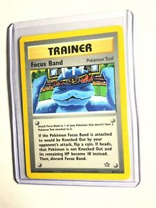 FOCUS-BAND-Neo-Genesis-86-111-Rare-Trainer-Pokemon-Card-Unlimited-NM