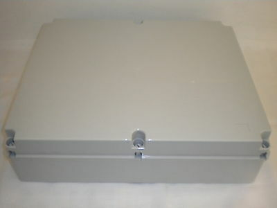 ESR B460 PLASTIC ENCLOSURE TERMINAL BOX IP56 ADAPTABLE 460 X 380 X 120MM