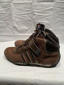 Details about Rare GOODYEAR Adidas Racer Brown size 10