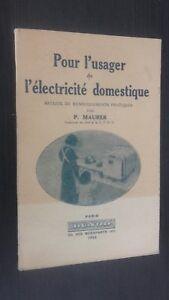 Para-DE-Usuario-DE-Tema-Hogar-P-Maurer-1944-Dunod-Paris-Discos-Buen-Estado