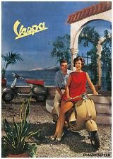Vespa Roller Scooter Poster Plakat Bild Piaggio Hoffmann Messerschmitt 125 150