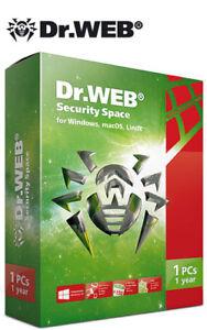 Dr Web Security Space 1 Device 1 An + Android!-afficher Le Titre D'origine