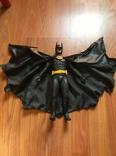 """Hot Toys Batman 1989 Michael Keaton 1/6 12"""" Action Figure Doll And Stand Only."""