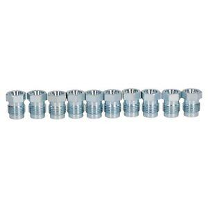 7//16 x 24 UNF per tubo freno Raccordi maschio in acciaio per tubo del freno 10 pezzi