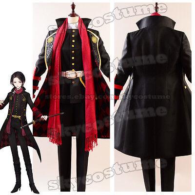 Touken Ranbu Game Kashuu Kiyomitsu Role Play Dress Suit Outfit Cosplay Costume