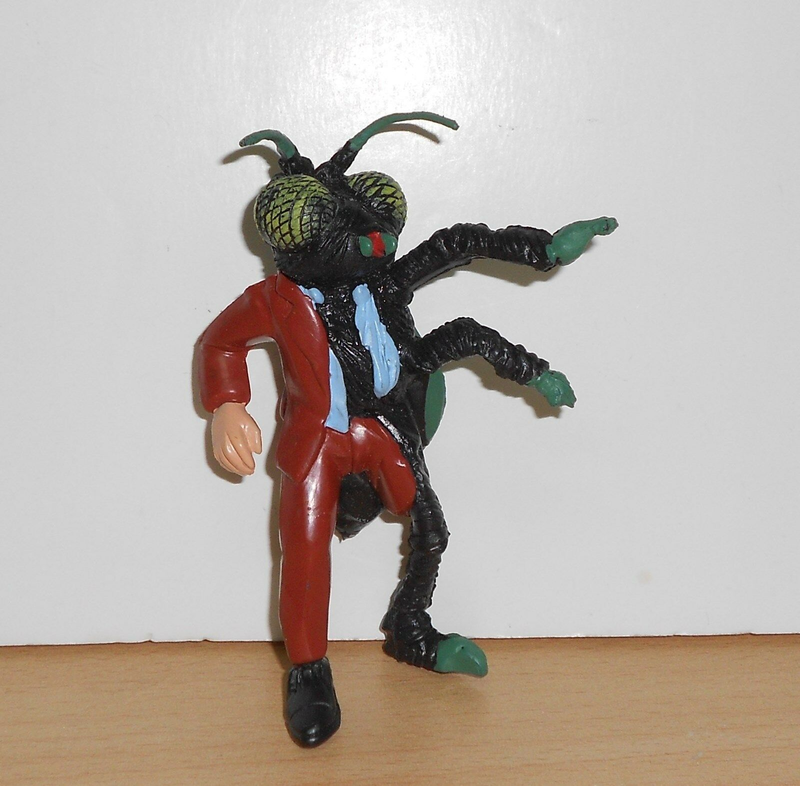 Jeff GoldBlaum THE FLY PVC FIGURINE Figure 4  Tall Hard Rubber 1992