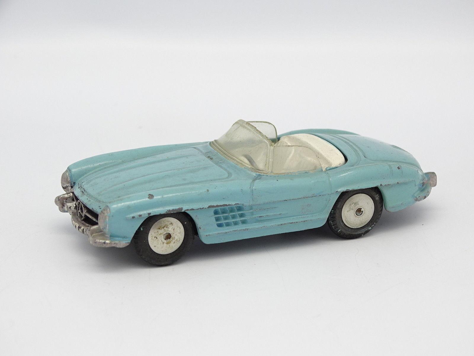 Corgi spielzeug sb 1   43 - mercedes 300 sl roadster blau