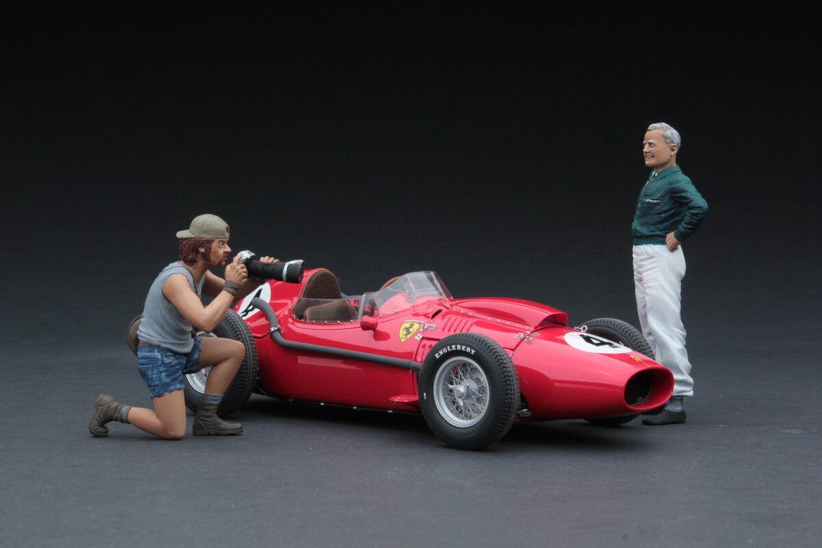 bajo precio Exoto Ferrari Dino 246 XS 1958 F1 F1 F1   Mike Hawthorn Diorama   1 18    GPC97210F  mas preferencial
