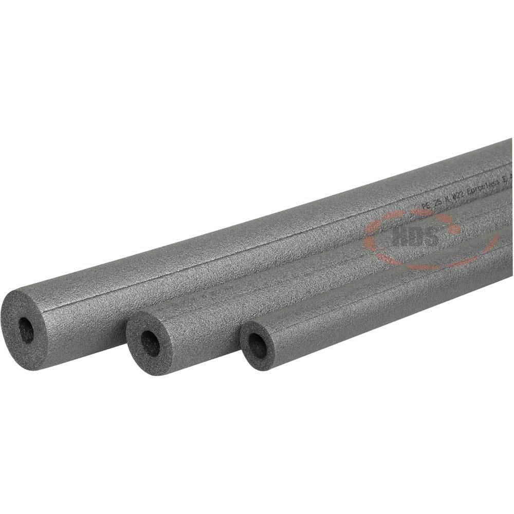 Rohrisolierung PE für 28mm Rohr / Dämmung 9 mm / 1m / Komplettkarton mit 90 m