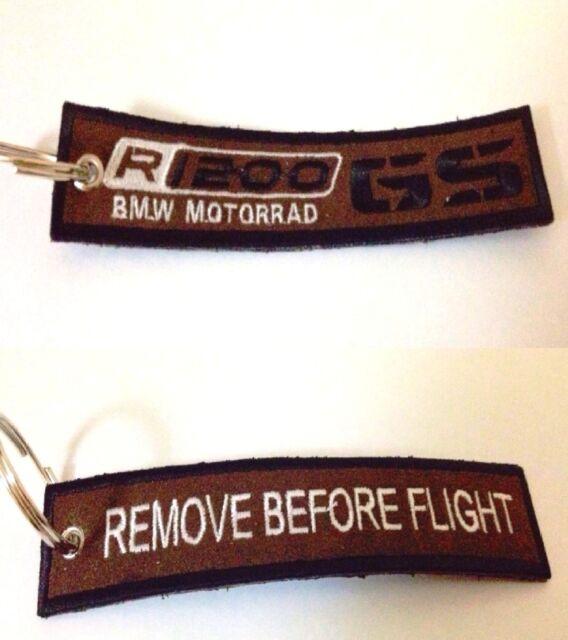 BMW  R 1200 GS Remove Before Flight Portachiavi Ring Key