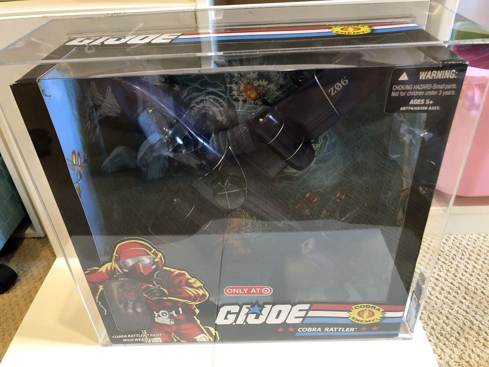GI Joe 25th Anniversary Cobra Rattler w  pilot Wild Weasel AFA 85 Exclusive