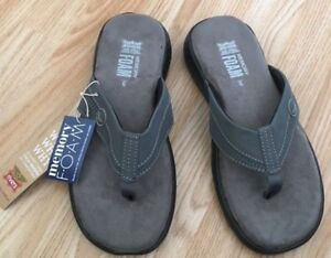 Men-ORTHOPEDIC-Diabetic-MEMORY-FOAM-Mule-Sandal-Shock-Slipper-Shoe-Size