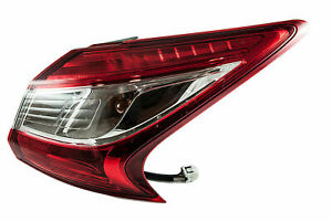 Nissan-Genuine-Pulsar-C13M-Outer-Rear-Right-RH-Lamp-Lights-Cover-265503ZL0A