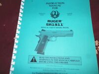Ruger Sr 1911, Semi-automatic Pistol 45 Pages