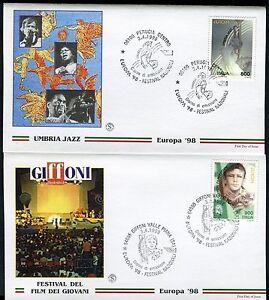 ITALY 1998 EUROPA-NATL FESTIVALS/JAZZ/MUSIC/TRUMPET/GIFFONI FILM/FOX/WILD FDC