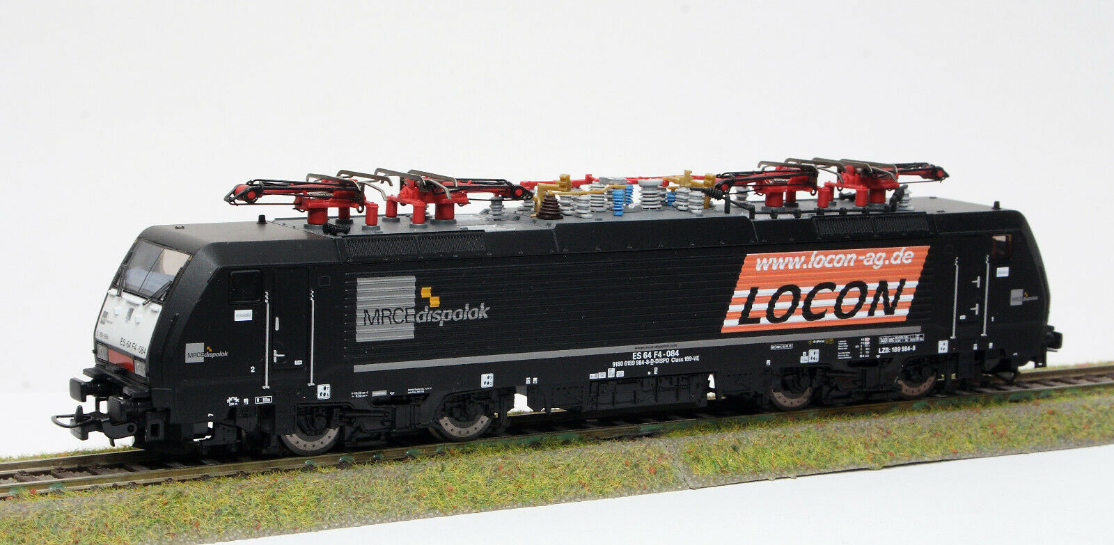 PIKO 57958  VI de época locon E-LOK BR 189 189 H0 981-8   1  87 [B]
