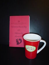 ALPHA GAMMA DELTA Coffee Cup Mug and Sorority Cook Book Alexandra & Company RUSH