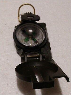 """Compact folding design. UST Lensatic Compass 20-310-DC45 Measures 3/"""" x 2/"""" x 1/"""""""