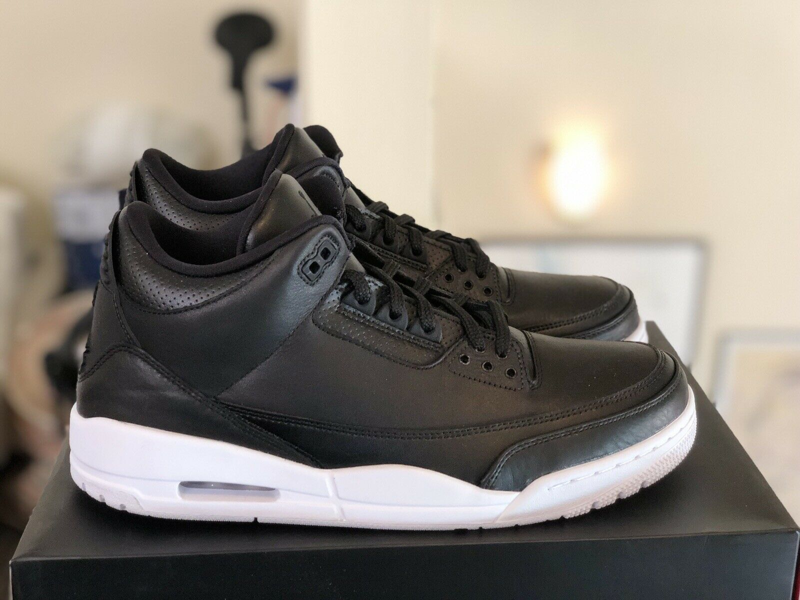 2016 Nike Air Jordan 3 III Retro Cyber Monday 136064 020 Black White Size 11