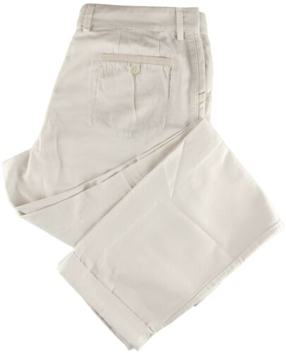 NWT EIDOS by ISAIA beige casual pants luxury Italy IT 46 US 30