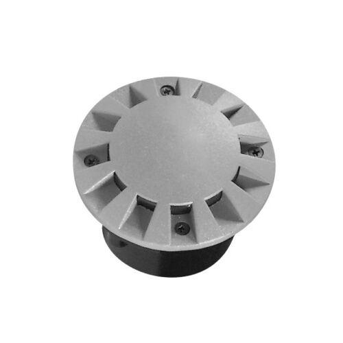 LED Bodeneinbauleuchte ROGER rund Bodenleuchte Bodenstrahler 1W grau Montagedose