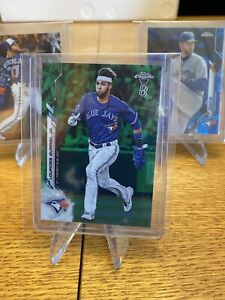 Lourdes Gurriel Jr. 2020 Topps Chrome Ben Baller Green Refractor 65/99 #167 SP