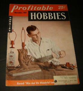 Profitable Hobbies Magazine November 1951