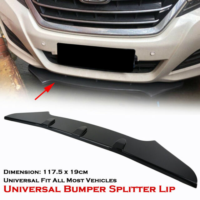 Splitter Front Spoiler Schwert Spoilerlippe Universal für BMW Mercedes für Audi