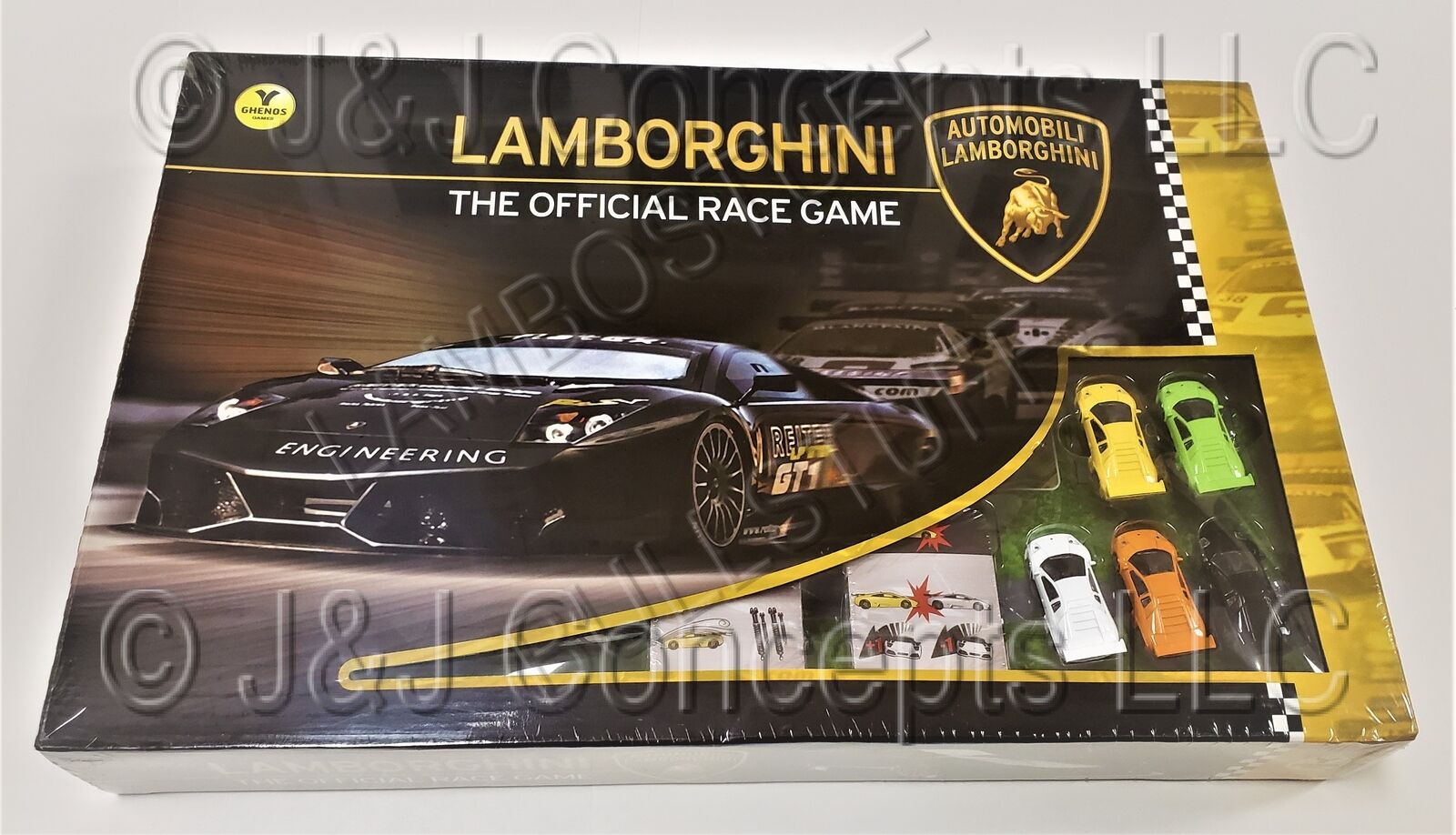 Lamborghini Board Game BRAND NEW SEALED