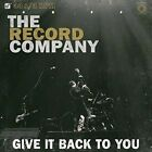 The Record Company - Give It Back to You (ltd Lp) Vinyl LP