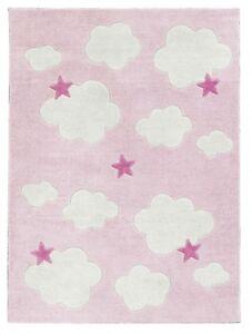 CONCEPT-ENFANTS-JOUETS-SCANDIC-600194-Tapis-Abbey-Tapis-Rose-Rose-100-x-130-cm