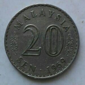 Parliament-Series-20-sen-coin-1969-B