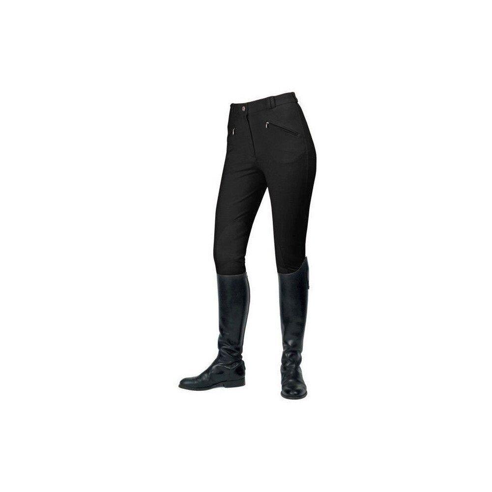MARK Todd GISBORNE Donna Pantaloni Equitazione 24 Nero
