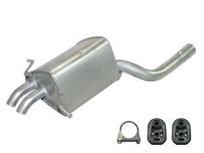 Auspuff Endschalldämpfer Mercedes C-Klasse W203 C 230 Kompressor Endtopf 141 kW