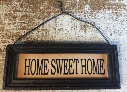 Primitive Framed Word Blocks Home Sweet Home Family Always Kiss Me Goodnight