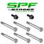Street Proven Fab GM Gen 3 /& Gen 4 LS Water Pump /& Thermostat Bolt Kit 5.3L 6.0L