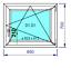 miniature 18 - Finestre in PVC con 2 lastre di vetro termico larghezza: 850 mm scelta l'altezza