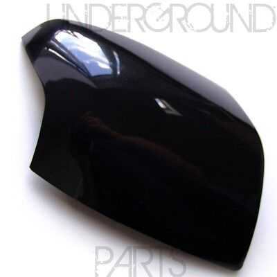 FORD FOCUS BLACK SIDE DOOR WING MIRROR COVER CAP CASING TRIM RIGHT DRIVERS ST CC