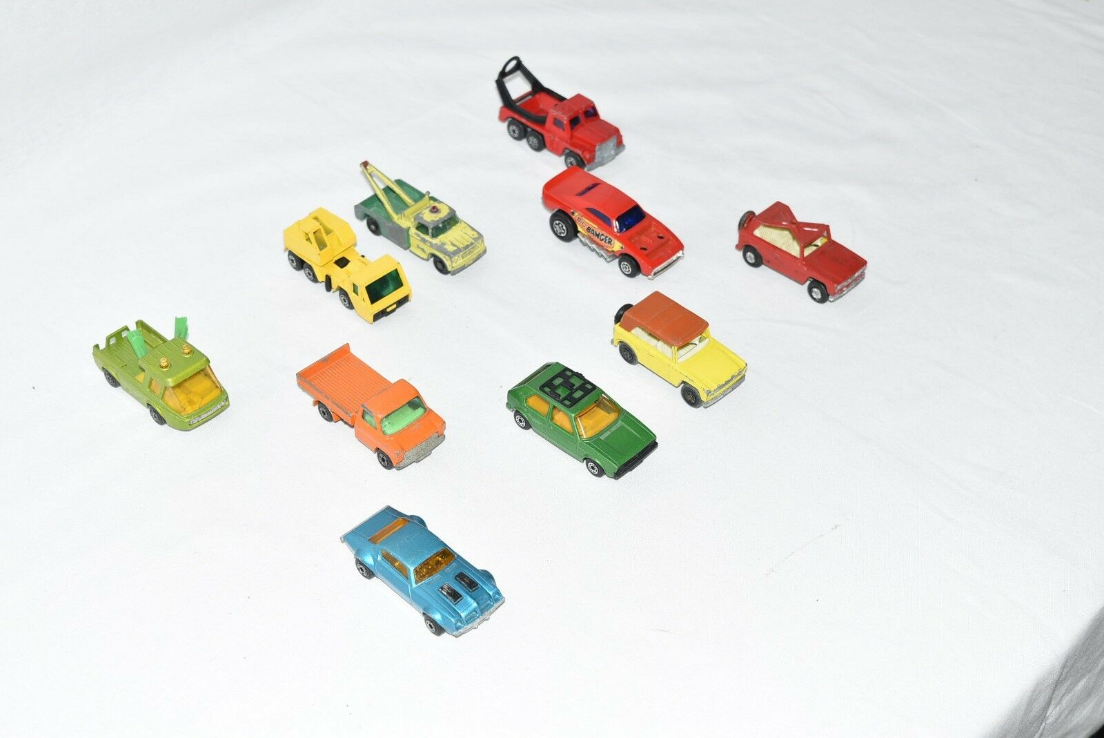 Original Lesney Matchbox Lot of 10.... 10.... 10.... For Condition - See Pictures (Lot L2) 1cad6c