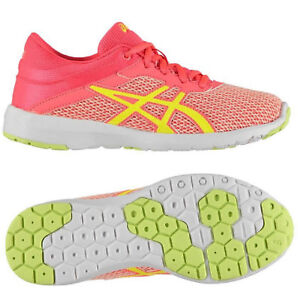 Asics Womens Running Trainers Asics Fuzex Rush GS Gym Girls Ladies ... 9d777f69bc40