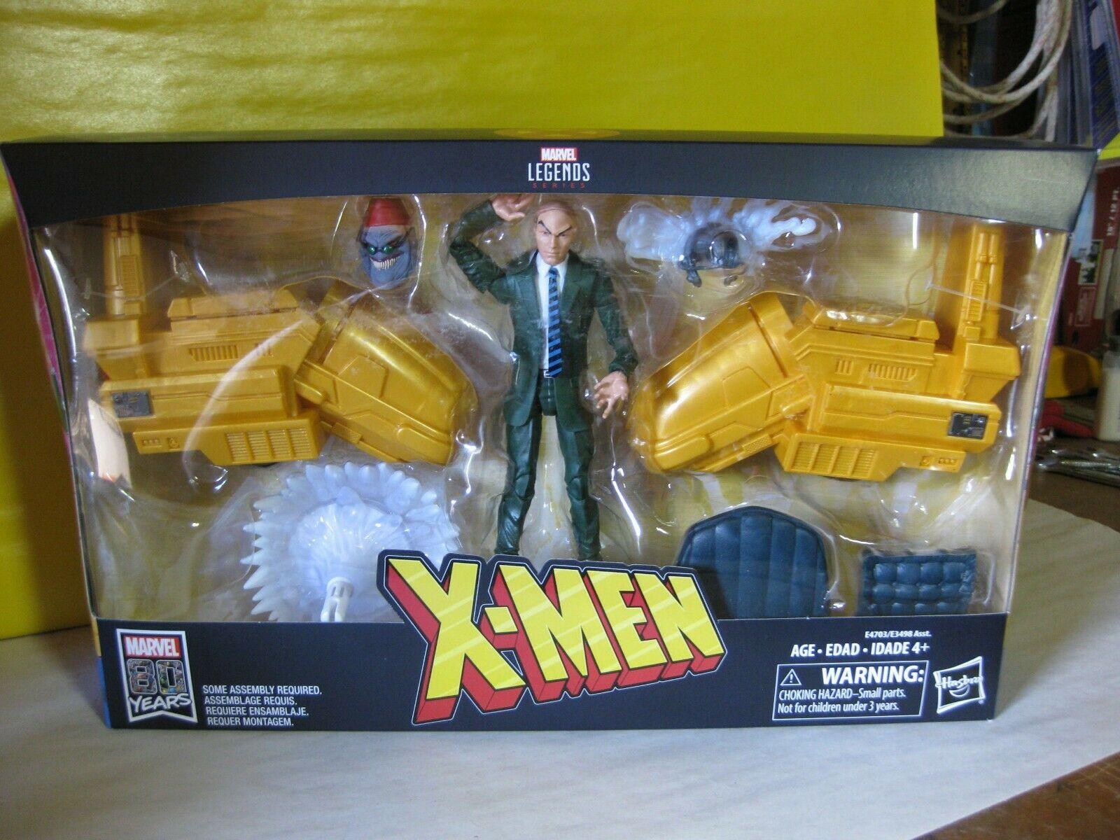 2018 Marvel Legends Ultimate X-Men  Professor X 6  w Hover Chair Marvel Riders  spedizione e scambi gratuiti.